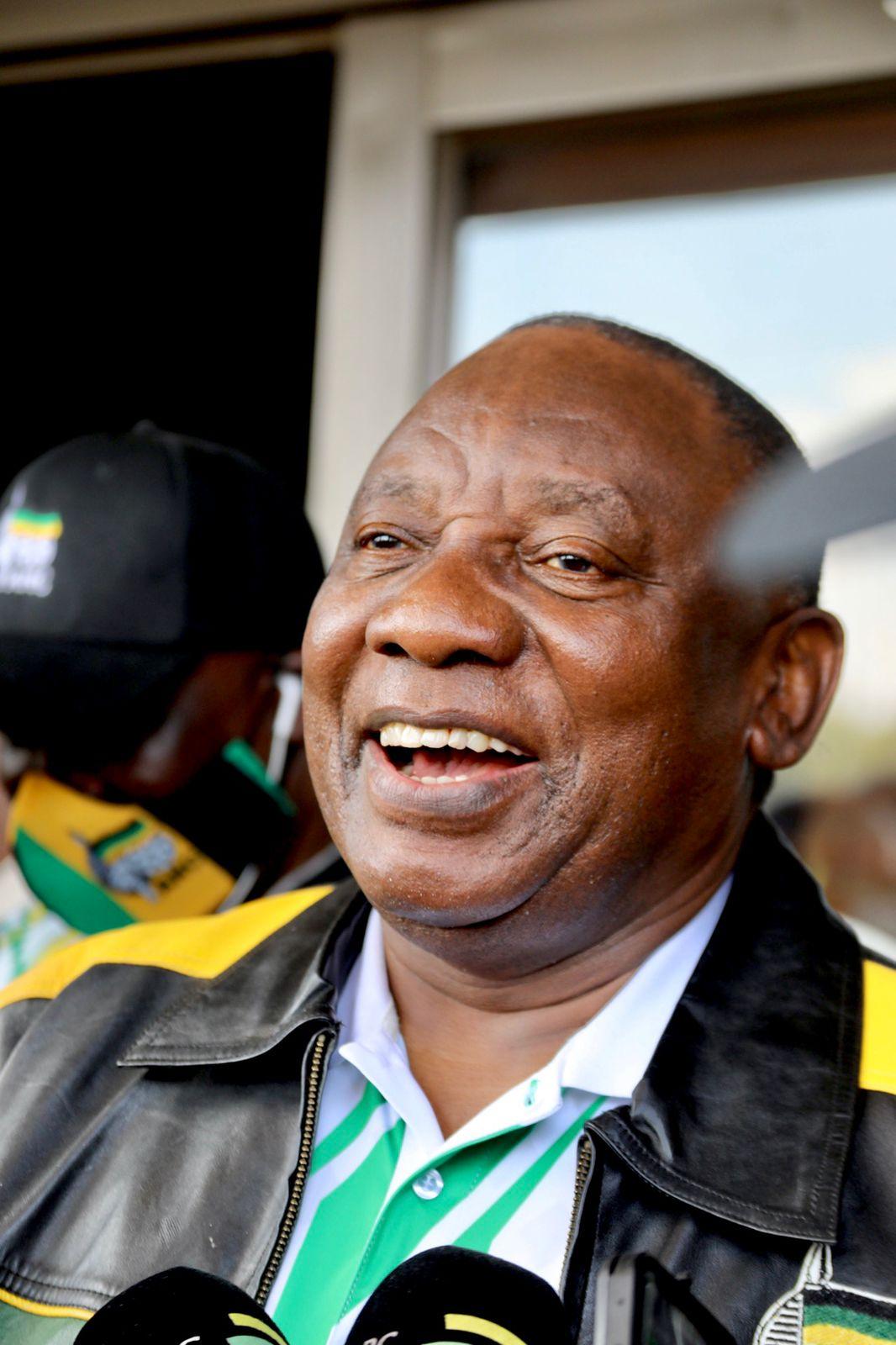 ANC President Cyril